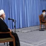 سخنرانى اخير خامنهاى، حمايت از روحانى يا ترس از قيام ملى؟