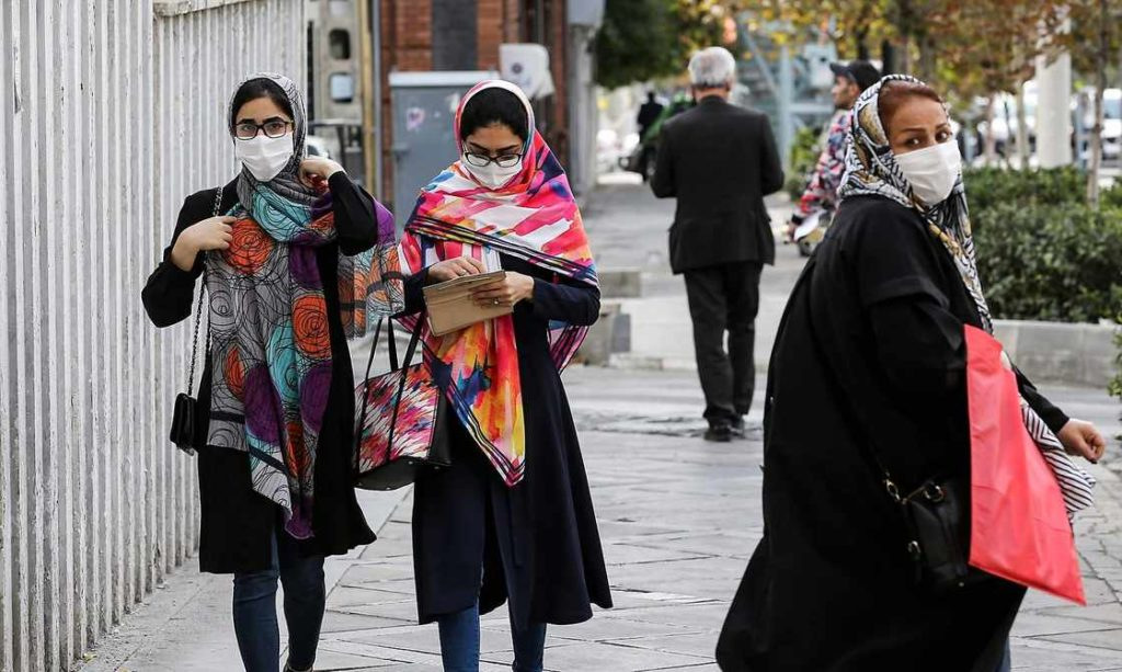 Frauen in Teheran