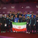 Iran gewinnt Ringen-Asienmeisterschaft